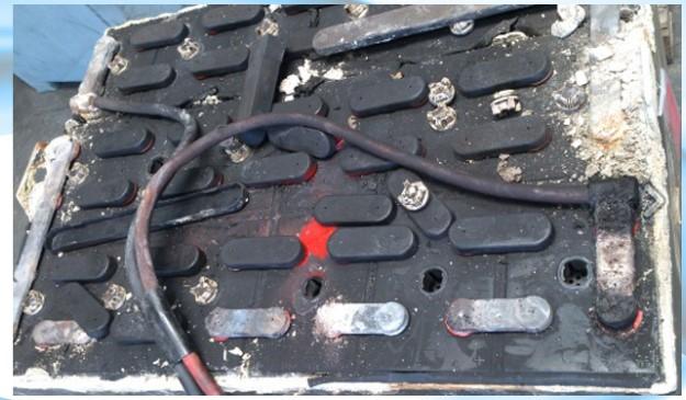 باتری لیفتراک دست دوم